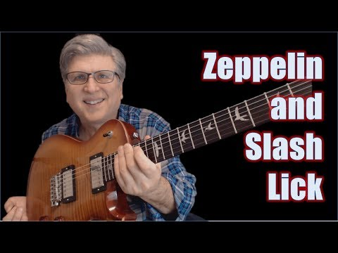 Led Zeppelin Slash Lick (with TAB and Backing Track)