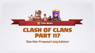 Clash of Clans - 117 Clan War Re-Proposal