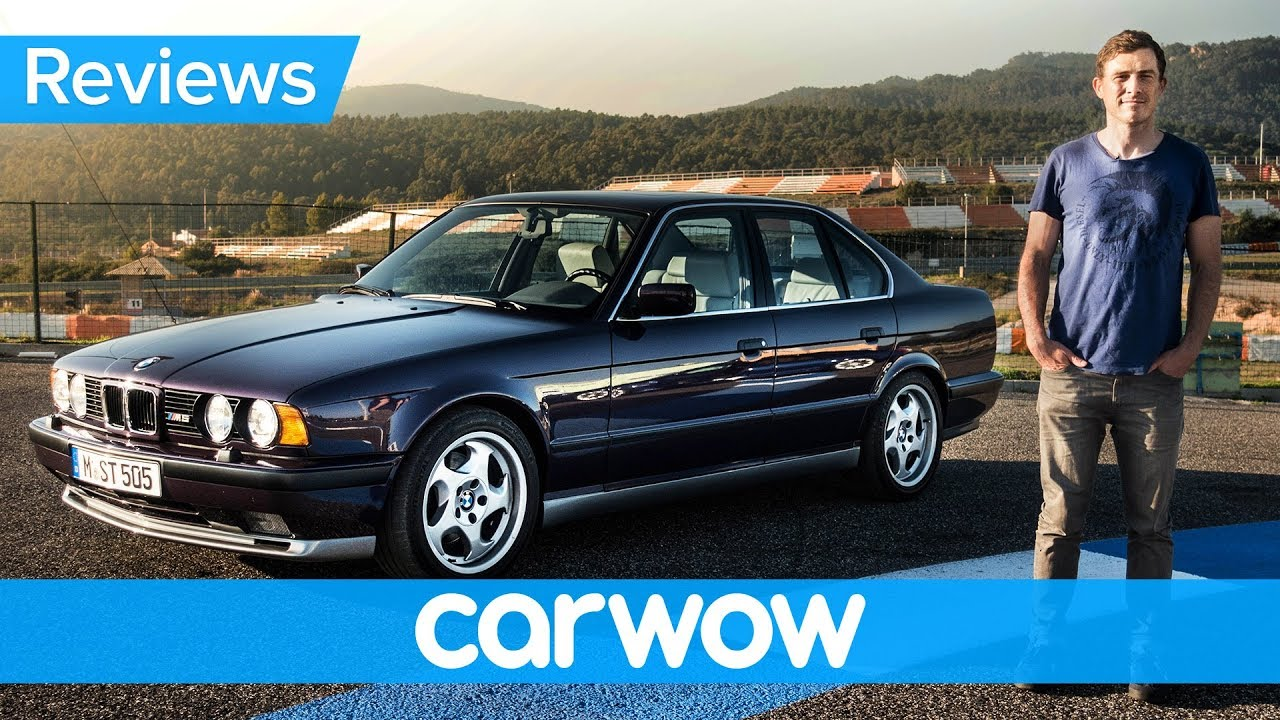 BMW M5 E34 review - see why they don't make them like they used to! - Dauer: 5 Minuten, 36 Sekunden