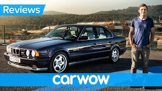 BMW M5 E34 review - see why they don't make them like they used to!