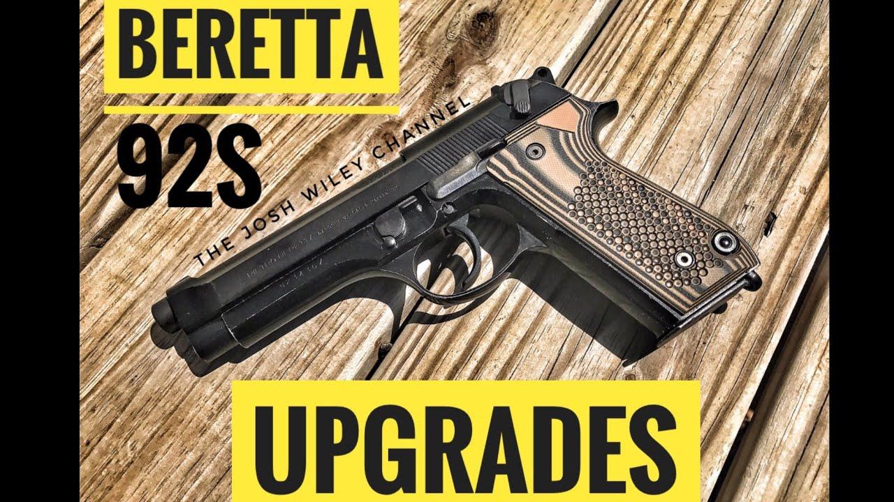 Beretta 92S Upgrades (LOKGrips)