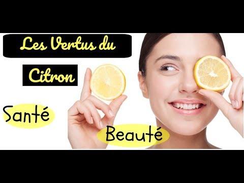 Les vertus du citron (beauté & santé)