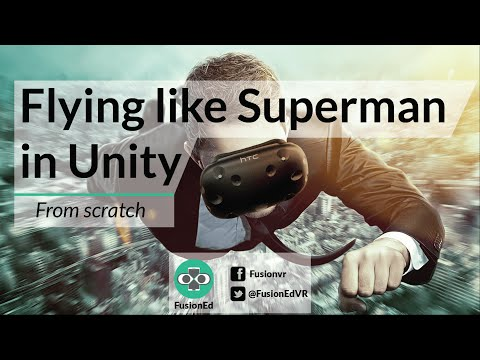 Flying like Superman in Unity From Scratch