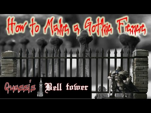 How to Make a Gothic Fence