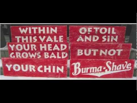 "Roger C. Vogel: Burma Shave Songs. 6. ""Within This Vale"""
