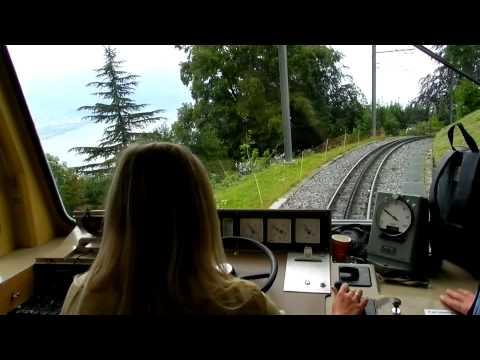 SUISSE 2011 - MONTREUX-GLION-CAUX  A/R