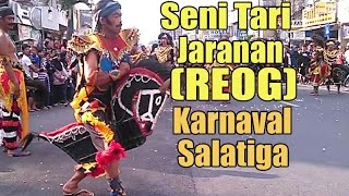 Seni Tari Jaranan (REOG) di Karnaval Salatiga 2016