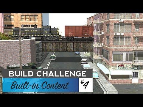 Trainz Build Challenge #4 - Built-in Content