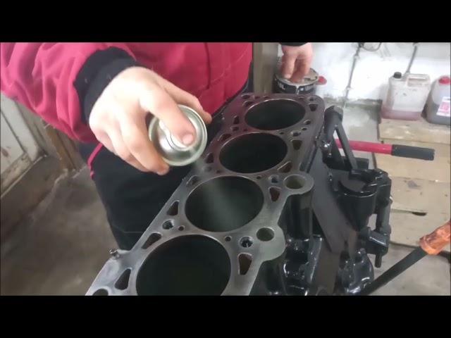 Pre trattamento del metallo cilindri monoblocco con Metalubs XS
