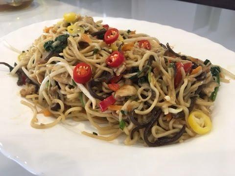 Kuchnia Chińska łatwy Przepis Na Chow Mein