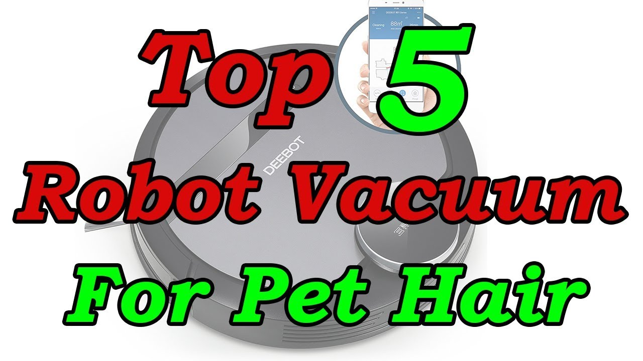 Best Robot Vacuum For Pet Hair On Carpet And Hardwood