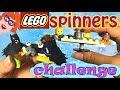 DIY LEGO fidget spinners CHALLENGE met Gamerpapa! LEGO Batman fidget spinner!