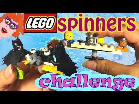 DIY fidget spinners LEGO CHALLENGE met Gamerpapa! LEGO Batman fidget spinner!
