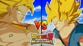Dragon Ball Z Burst Limit : BROLY VS GOKU ! EL SUPER SAIYAJIN LEGENDARIO VS EL HEROE !