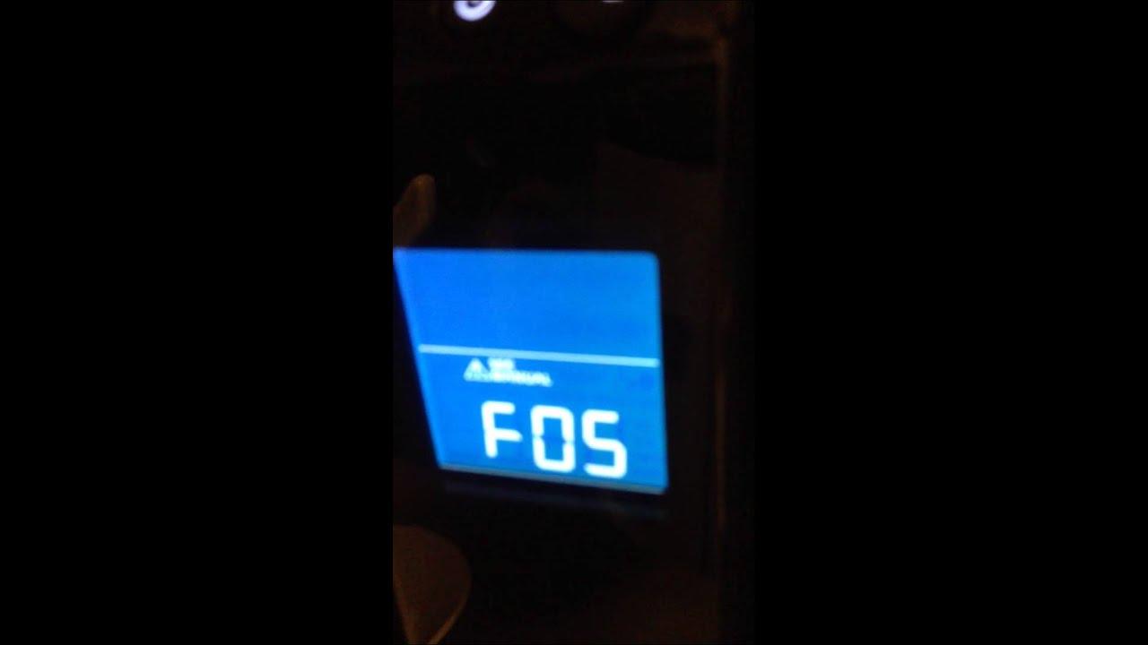 Apc ups 1500 f05 error :/ by SirKbAlot