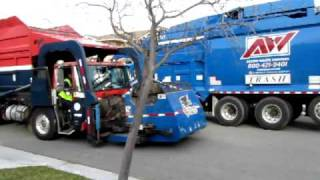 My Brand New Natural Gas Autocar/Mcneilus garbage truck!