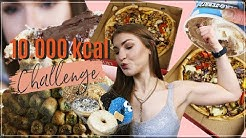 10.000 Kcal CHALLENGE 🔥 Fit Girl CHEATDAY | MrsSuperSophia