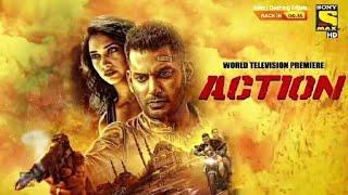 Action - Hindi Dubbed Movie 2020   Vishal Tamannaah Bhatia   Action hindi Release by Sony Max