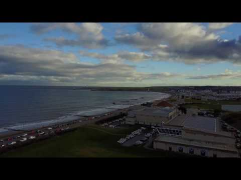 First flight DJI MavicPro / Aberdeen beach
