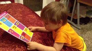 Ребенок в 3 года знает таблицу умножения