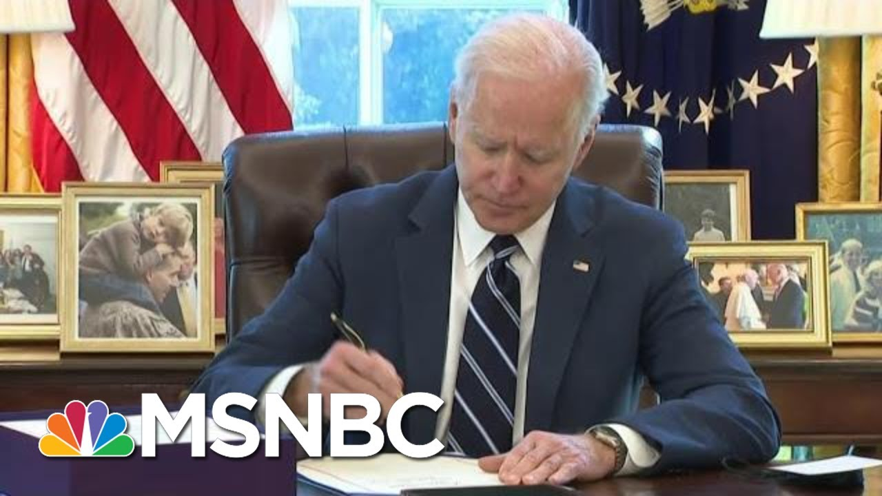 New Signs That More Biden Money May Be Coming To America | The Beat With Ari Melber | MSNBC