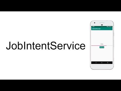 Background Service Using JobIntentService | Android Tutorials