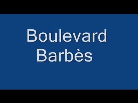 Boulevard Barbès Paris Arrondissement  18e