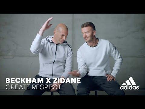 Beckham x Zidane | Create Respect