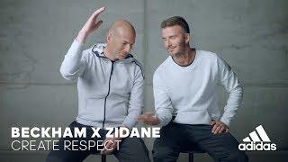 Beckham x Zidane | Create Respect thumbnail