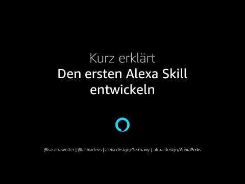 Kurz erklärt: Den ersten Alexa Skill entwickeln