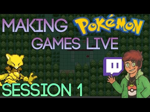 Making Pokemon Games Live (Tidal Session 1)
