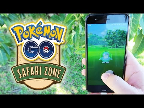 CAPTURO PSYDUCK SHINY! ¡¡¡TODO el POKÉMON GO SAFARI ZONE desde DENTRO!!! [Keibron] thumbnail
