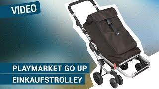 Produktvideo zu Einkaufstrolley Playmarket Go Up Black