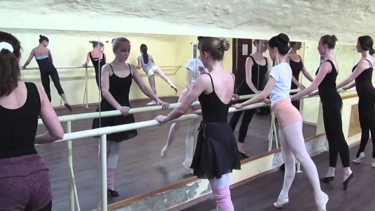 балерин раздевалки