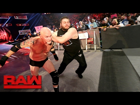 Gillberg returns to WWE: Raw, Feb. 13, 2017