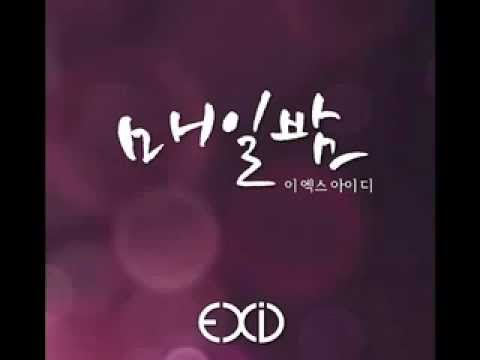 [DL/AUDIO] Exid - Every night (Inst)