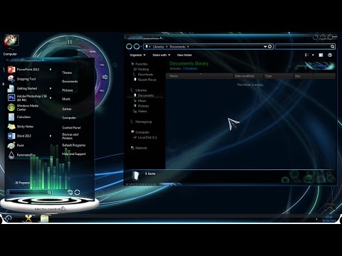 How To Install Custom Windows 7 Theme [2014]