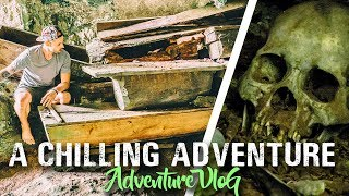 UNSEEN HANGING COFFINS (First YouTube Footage) 💀Sagada, Philippines