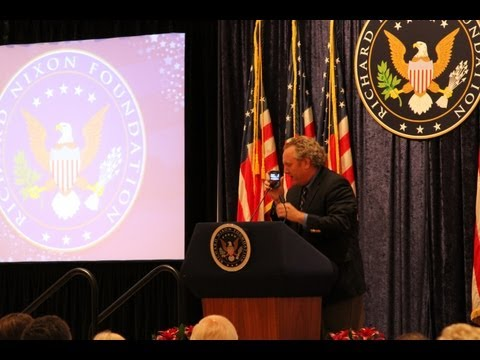 Andrew Breitbart at the Nixon Library