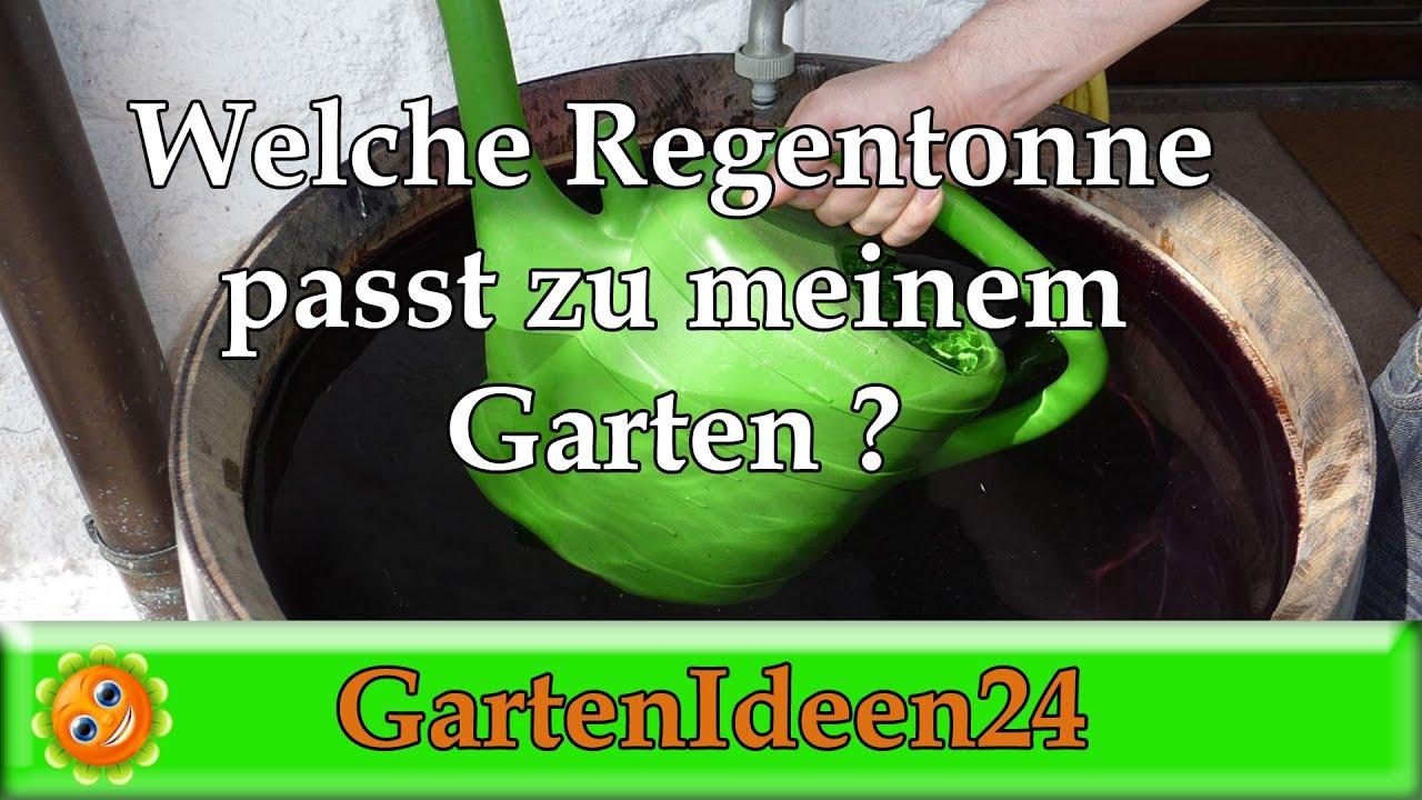 Beliebt Bevorzugt Welche Regentonne passt zu meinem Garten? Holzregenfass oder grüne #WG_55