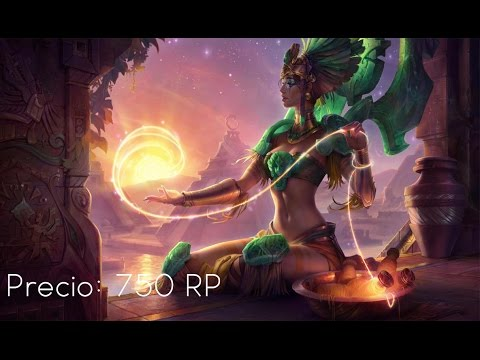 Skin Karma Diosa del Sol – League Of Legends – 2017