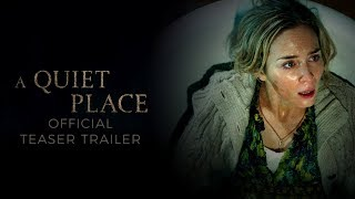 Video A Quiet Place (2018) - Official Teaser Trailer - Paramount Pictures download MP3, 3GP, MP4, WEBM, AVI, FLV September 2018