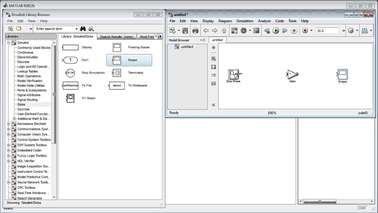 maxresdefault getting started with simulink (release 2012b) youtube Basic Electrical Wiring Diagrams at edmiracle.co