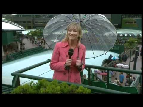 BBC Weather Presenter Carol Kirkwood Sings ! - 6th July 2012