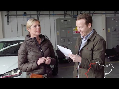 How Well Does Sabine Know Nürburgring? - Top Gear