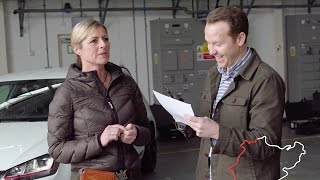 How Well Does Sabine Know Nürburgring? | Top Gear