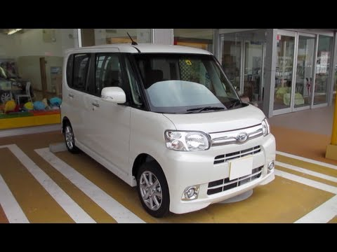 2013 DAIHATSU TANTO - Exterior & Interior - YouTube