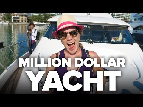 Million Dollar Chinese Yacht!