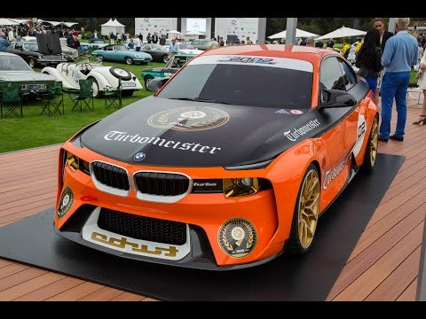 BMW 2002 Hommage Concept at The Quail - 2016 Monterey Car Week