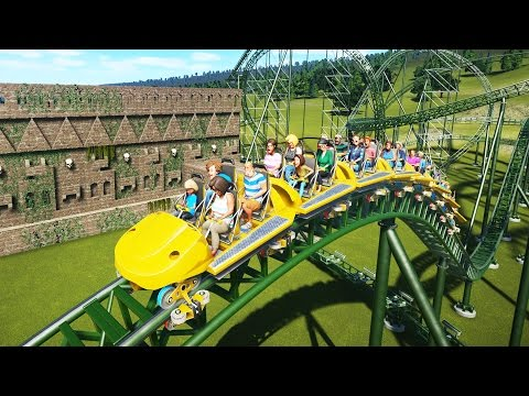 Planet Coaster Gameplay - Ancient Jungle Coaster! - Let's Play Planet Coaster Part 12